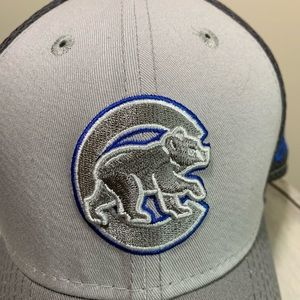 Chicago Cubs New Era 39THIRTY Cap M/L Gray